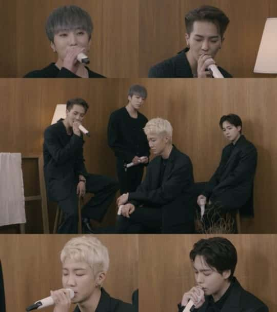 WINNER Reveals Live Performance Clip for 'Remember'… Vocals That Sound Like CDs