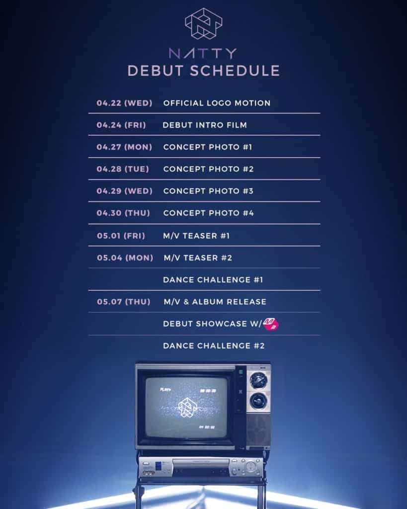 Natty from SIXTEEN, Release Debut Scheduler...From Intro Film to Dance Challenge, 'Expectation Up'