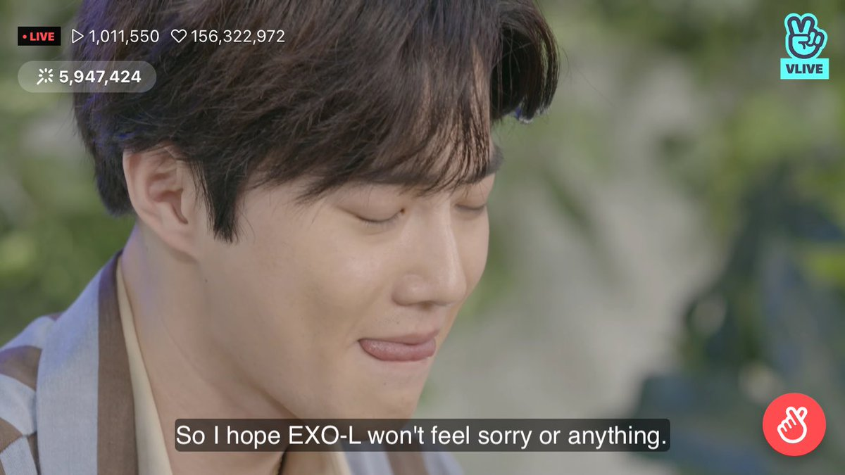 """EXO Suho, why did you cry during an online fan meeting?""""I'm sorry to my fans."""""""