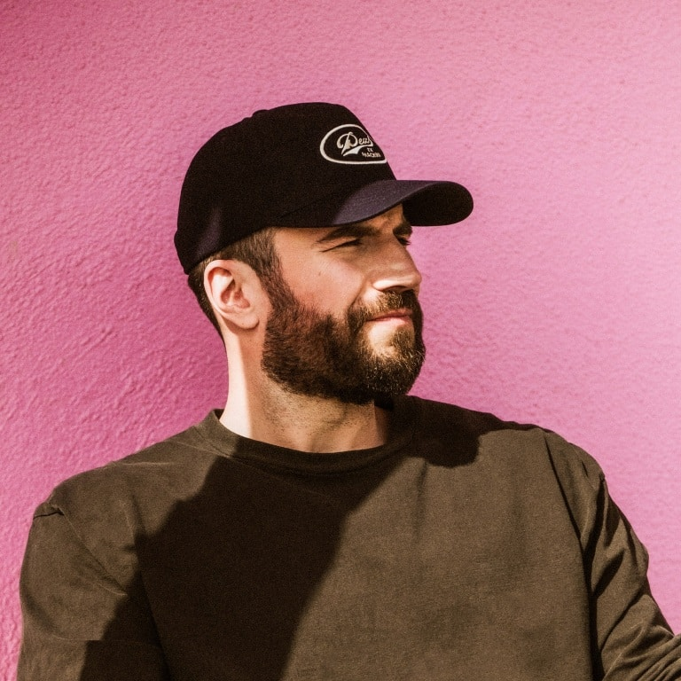 "SAM HUNT JOINS FORCES WITH BRELAND TO REV UP HIS SMASH DEBUT ""MY TRUCK."""