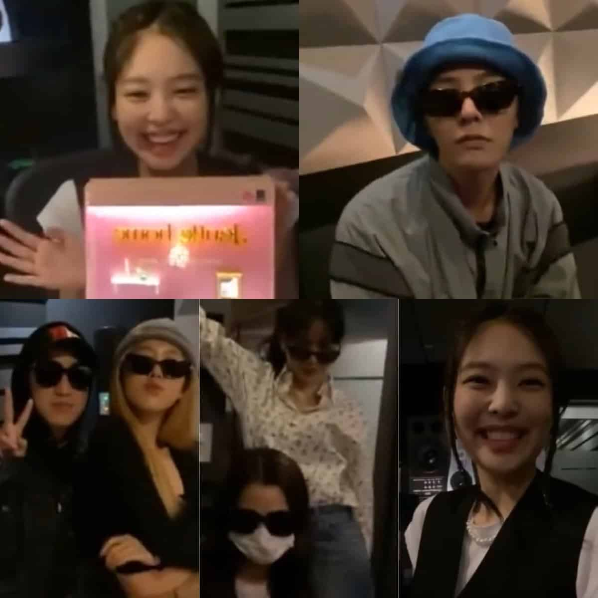 BLACKPINK's Jennie, Late-Night SNS live...Even GD has Appeared