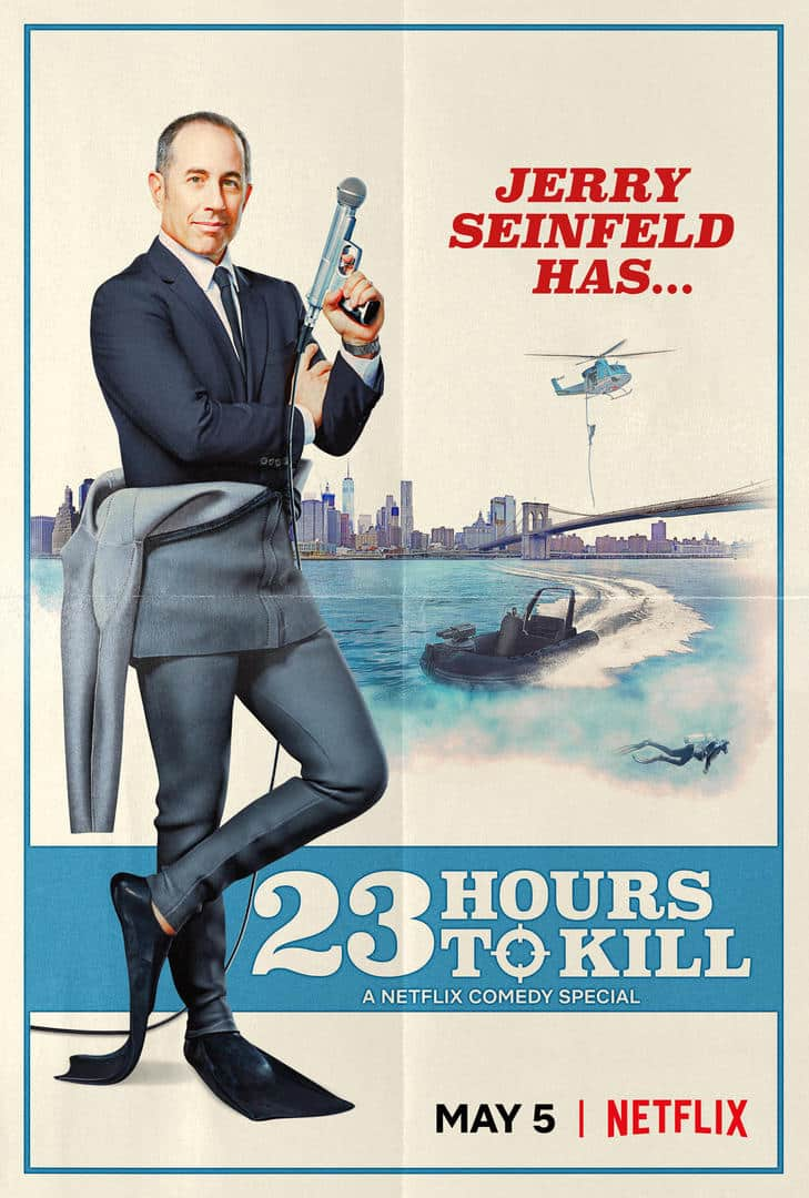 NETFLIX DEBUTS OFFICIAL TRAILER FOR JERRY SEINFELD: 23 HOURS TO KILL