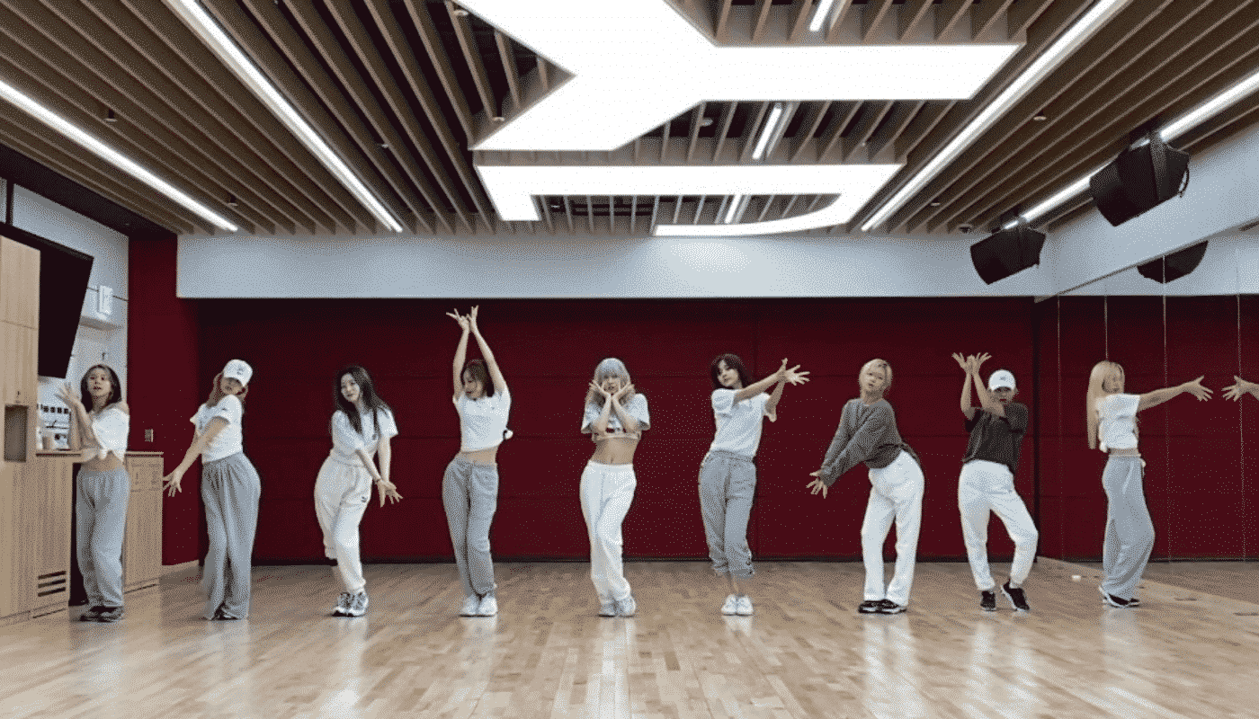 TWICE unveils a More Complete Dance Practice Video of 'Feel Special' than usual