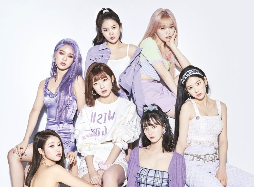 Oh My Girl- (G)I-DLE-Apink... Prove of the power of a female singer in a long time on the music chart