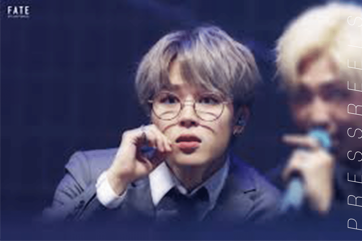 BTS Jimin, Another Charm with Just Glasses