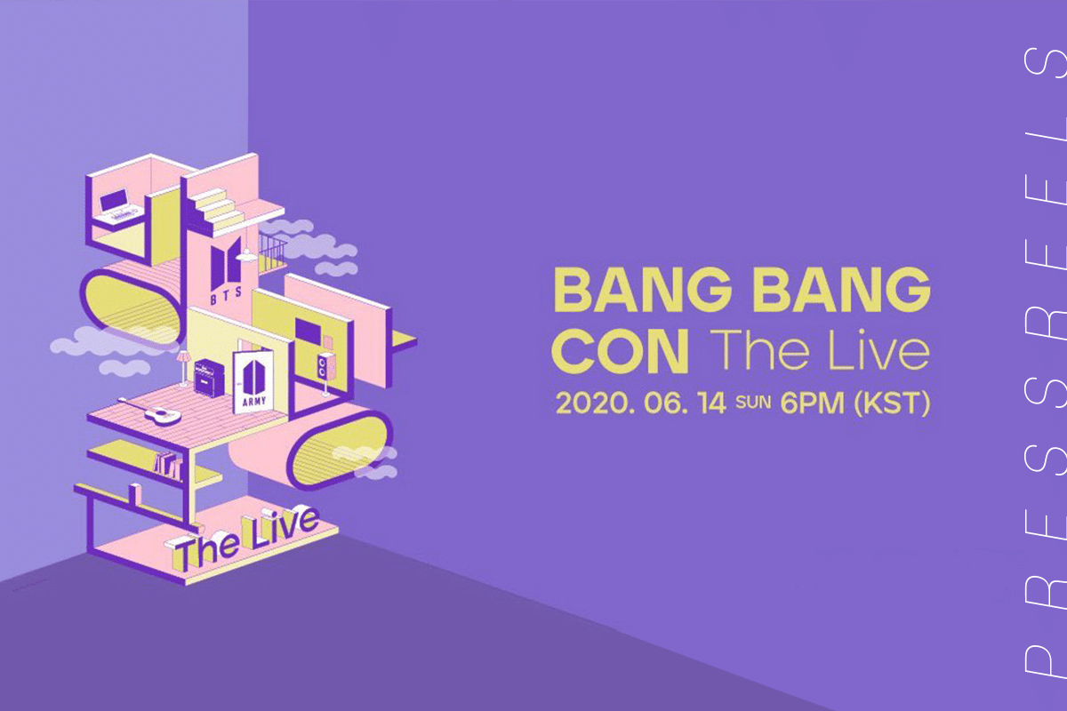BTS 'BANG BANG CON THE LIVE' will be held on June 14