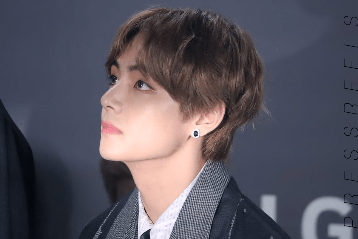 BTS V, the Real Good-looking Man doesn't Blame the Angle