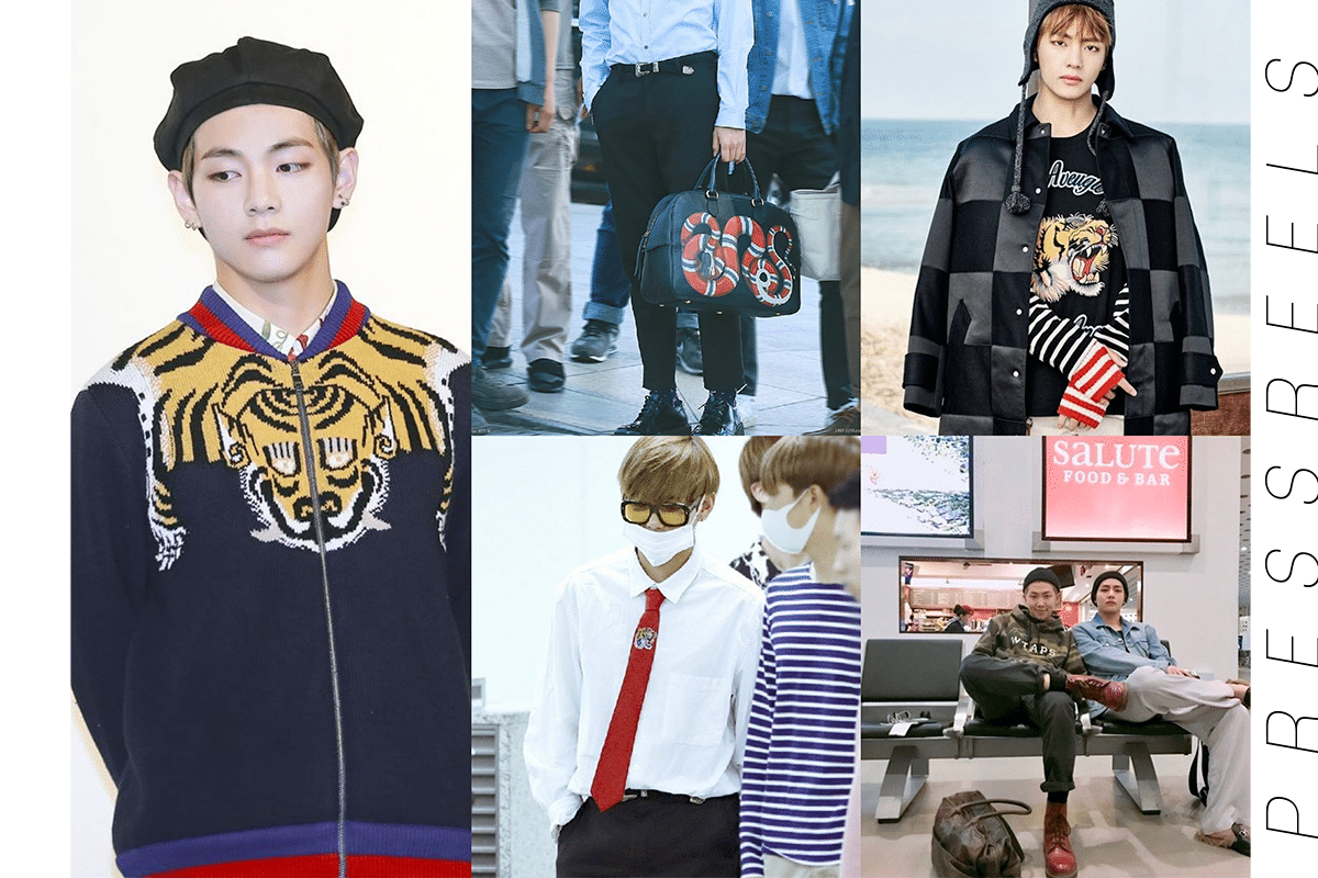 BTS V, Attention to Fashion Style