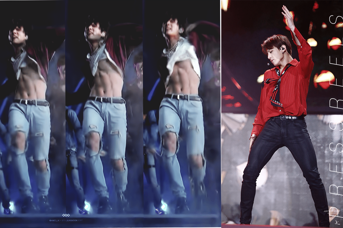 BTS Jungkook - 15 Dangerous Sexy Movements on the Stage
