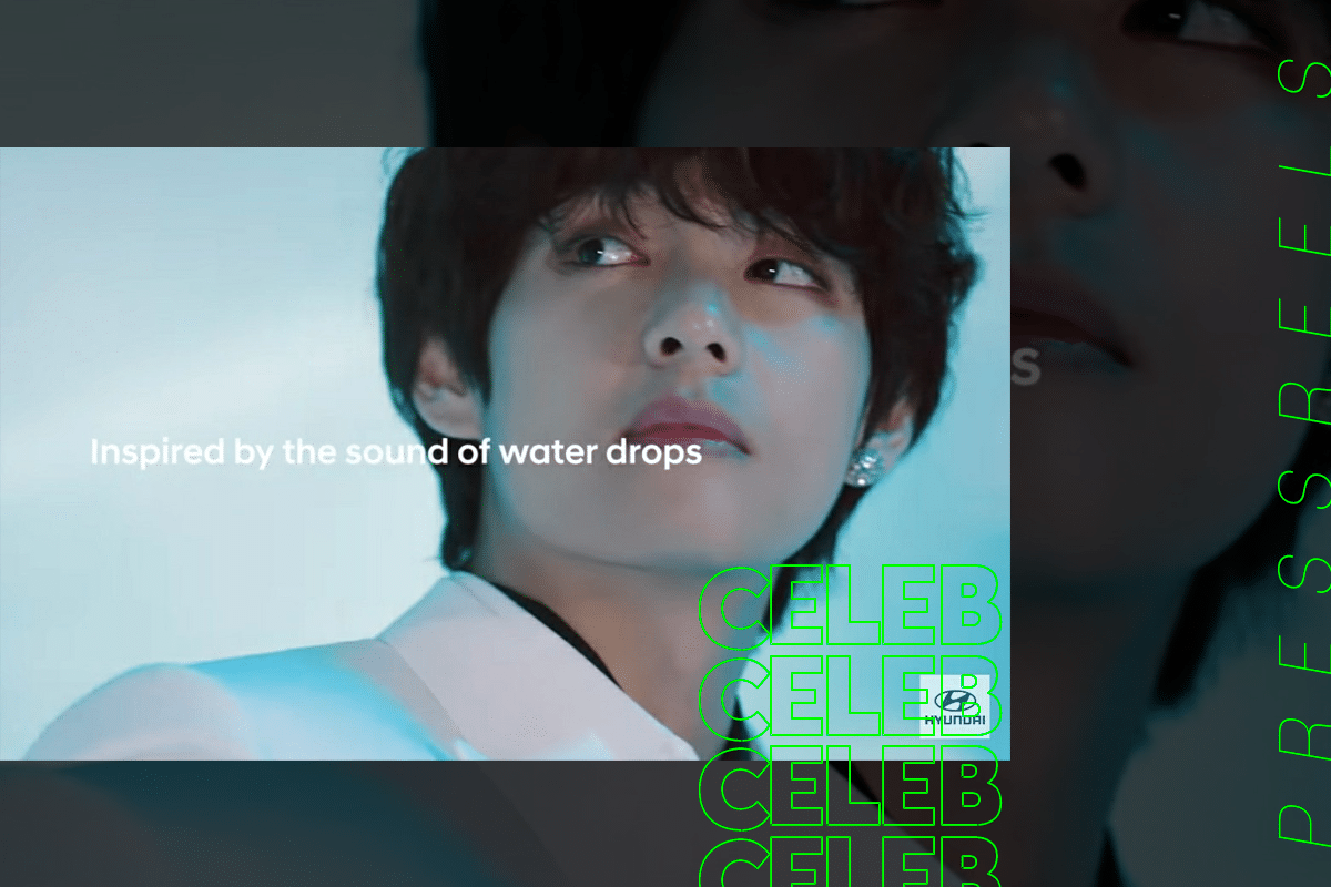 BTS V, Appearance and Voice Made from CG