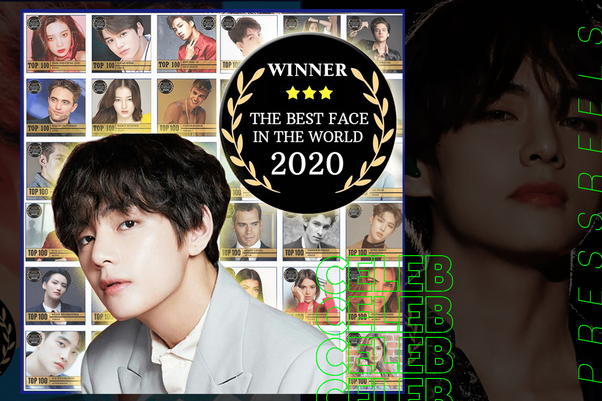 BTS V tops the 'THE BEST FACE IN THE WORLD' Poll for the Second Consecutive Year