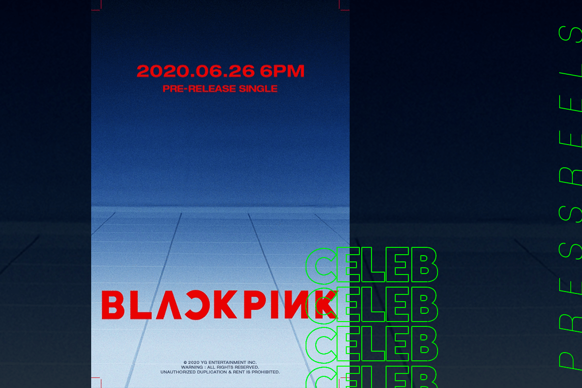 BLACKPINK is making a comeback on June 26th