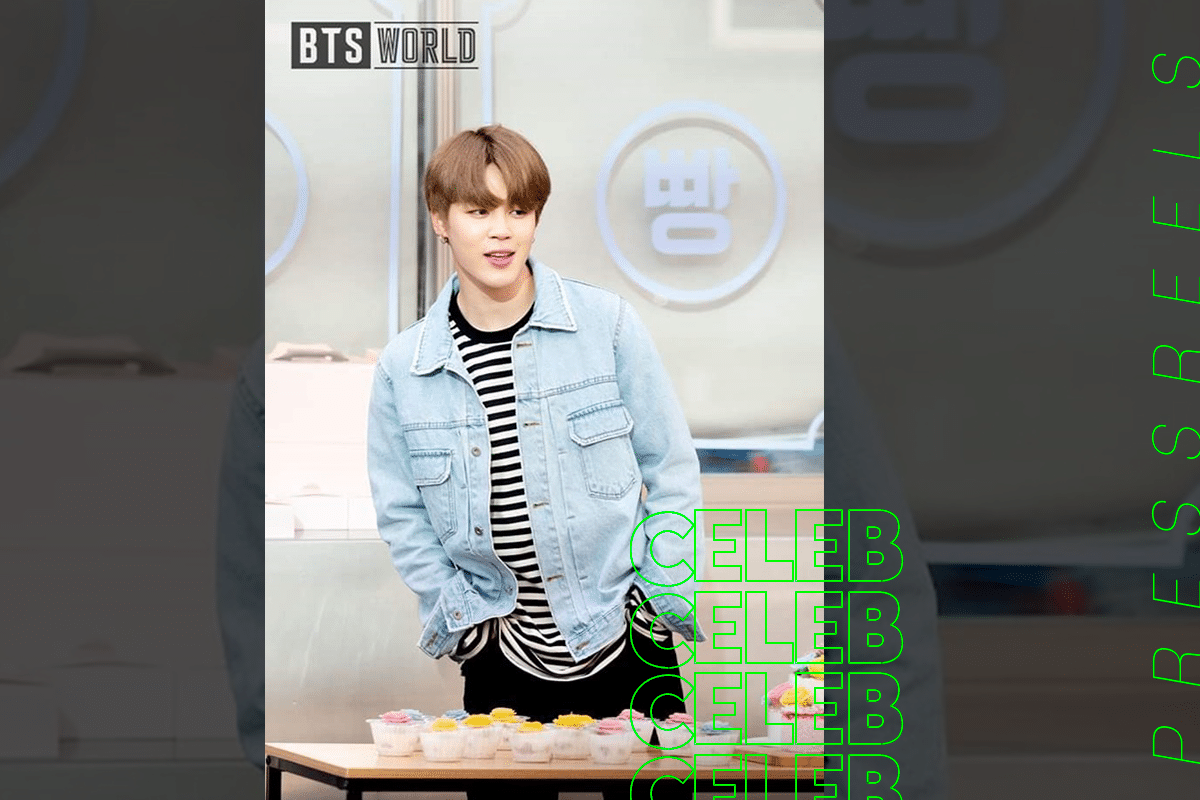 BTS Jimin Reveals Photos on 'BTS World'
