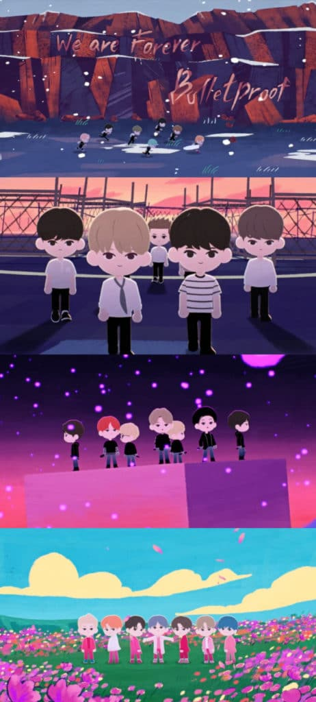"BTS Animation M/V for ""2020 BTS FESTA"" Released on June 12"