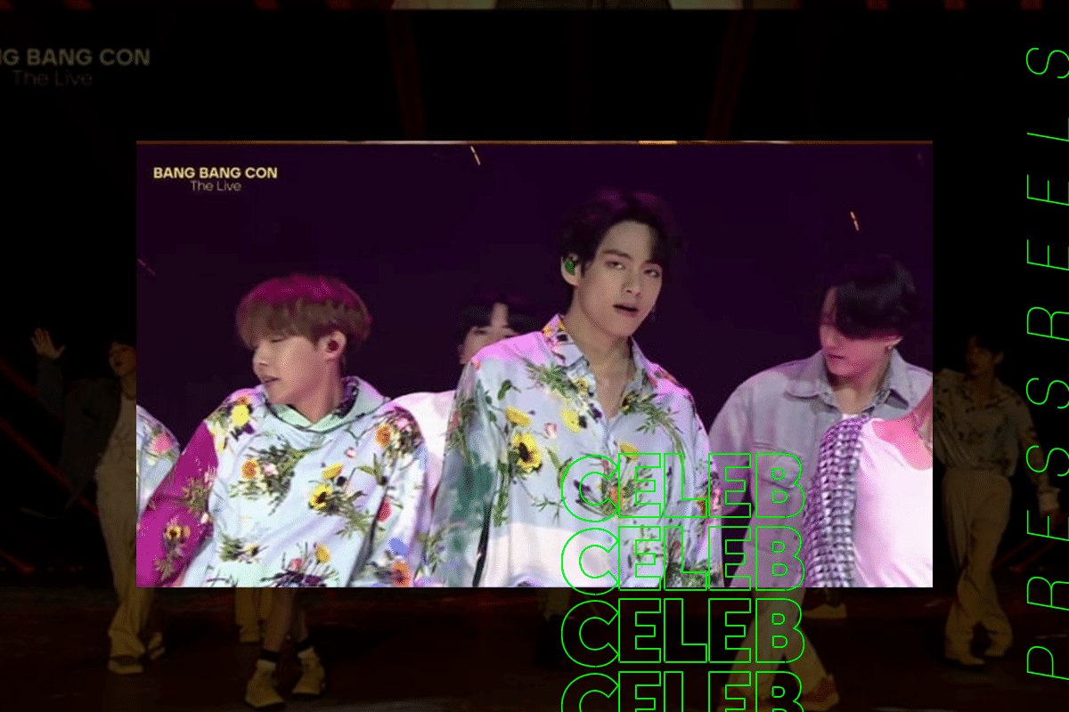 BANG BANG CON THE LIVE, BTS 'DOPE' opening stage