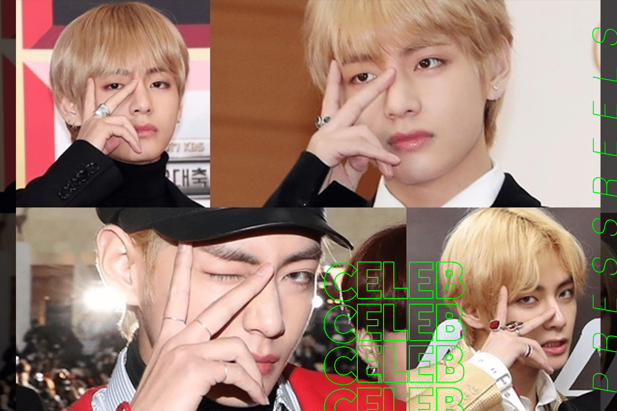 """BTS V has had worldwide influence with originality - From """"I Purple You"""" to """"V-gnature"""""""