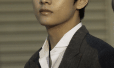 BTS V, with an lovely face - charisma on stage and a big gap