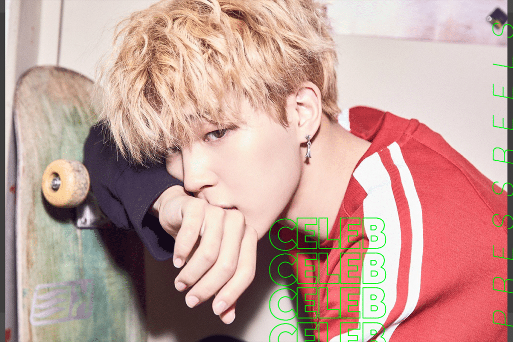 BTS Jimin Reveals Behind-the-scenes photos of cute poses