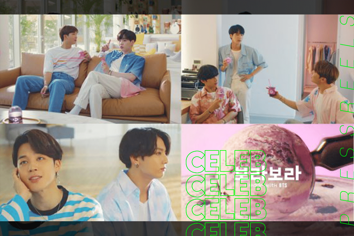 Baskin Robbins Releases TV Commercials for 'BTS is Baskin Robbins'