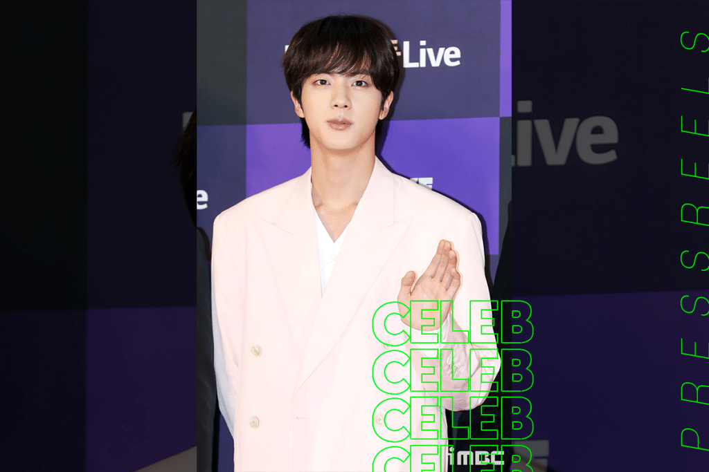 """Jin of BTS was selected as the """"No. 1 idol whose article photos soon become a pictorial."""""""
