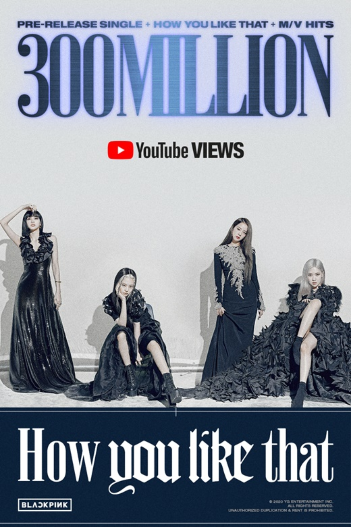"""BLACKPINK """"How You Like That"""" - Music Video has Surpassed 300 Million Views"""