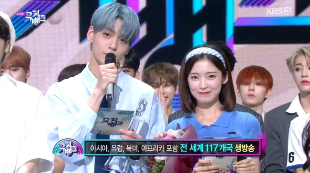 BLACKPINK Won No.1 without Appearing - OHMYGIRL Arin X TXT Subin New MC debut in Music Bank