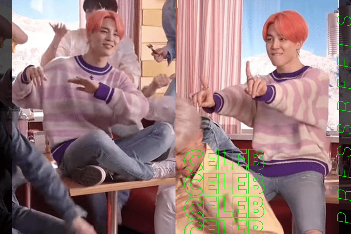 BTS Jimin Showed off his Heavenly Idol Visuals in the Behind-the-scenes Video