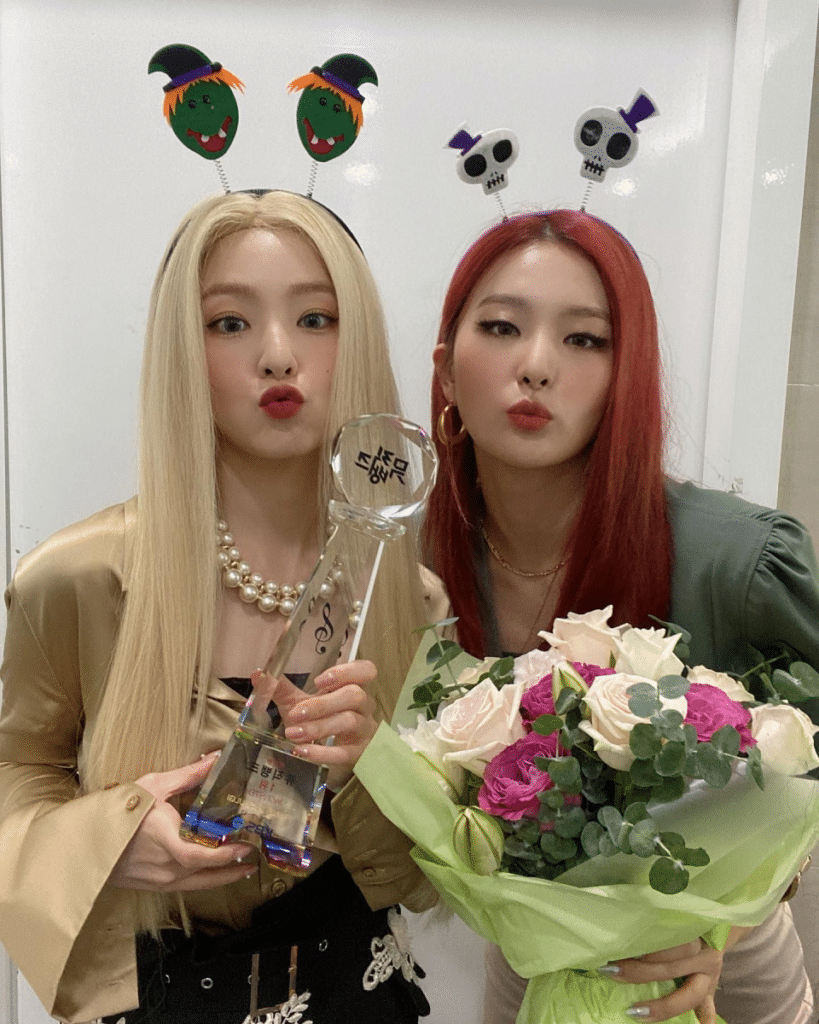 "Red Velvet Irene & Seulgi - Shared Their Thoughts on Winning First Place in ""Monster"""