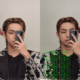 BTS V, Hit on SNS worldwide with 'Beauty of the Heavenly World'